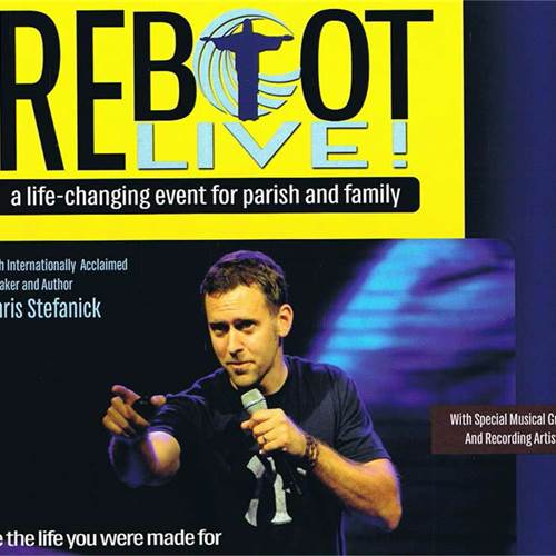 Give your faith a REBOOT! -- an inspirational event sponsored by St. Francis Xavier Parish